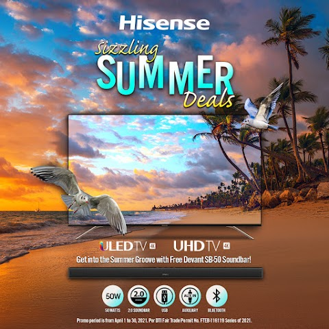 Unbeatable Hisense Sizzling Summer Deals to Get Your Home TV Marathon Ready for Summer