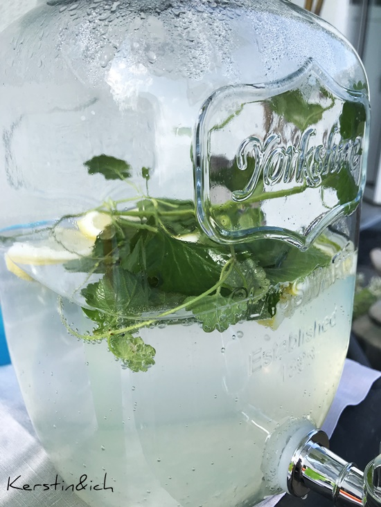Sommerdrink Gundermann Giersch Limonade