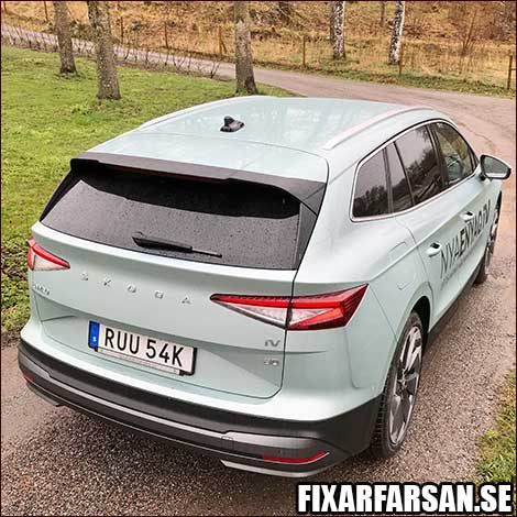 Eldriven-SUV-Test-Skoda-ENYAQ