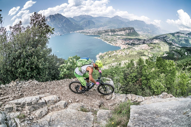 biken am gardasee trails und tracks cost trail mtb altissimo