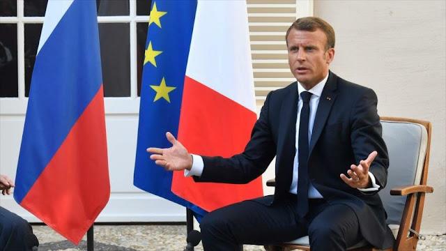 Macron pide mejorar lazos con Rusia para no empujarla hacia China