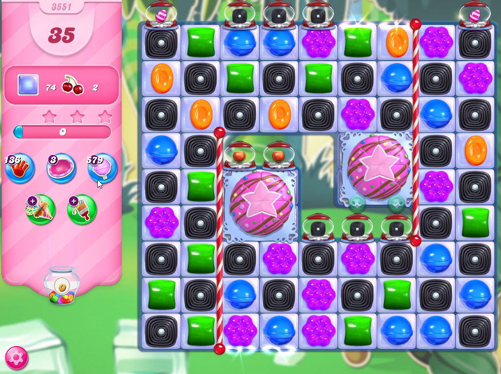 Candy Crush Saga level 3551
