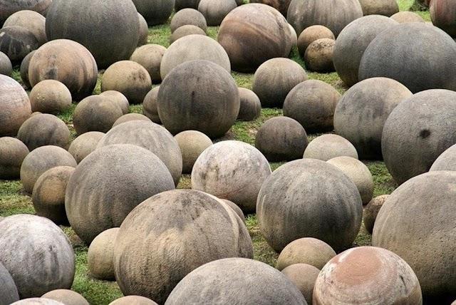Mysterious hundreds of strange stones like belonging to aliens