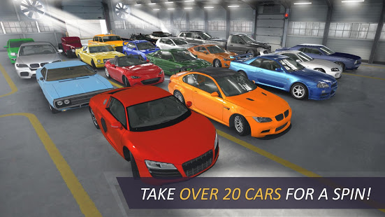 Take Over 20 Cars for a Spin