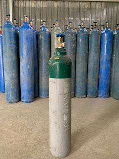 Bình khí Argon 14 Lít Nhật Bản