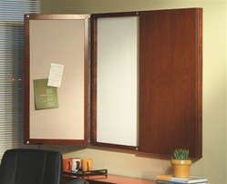Sorrento White Board Cabinet