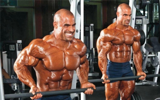 BICEPS MASS MOVE: THE BARBELL DRAG CURL  By Vic Goyaram