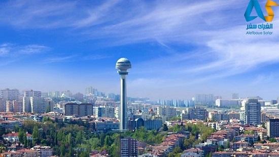شهر آنکارا، پایتخت ترکیه