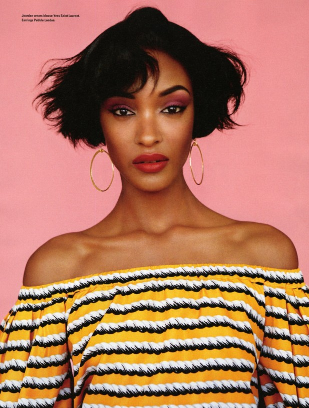 5 Top Models Discuss Body Insecurity & Bullying - Jourdan Dunn
