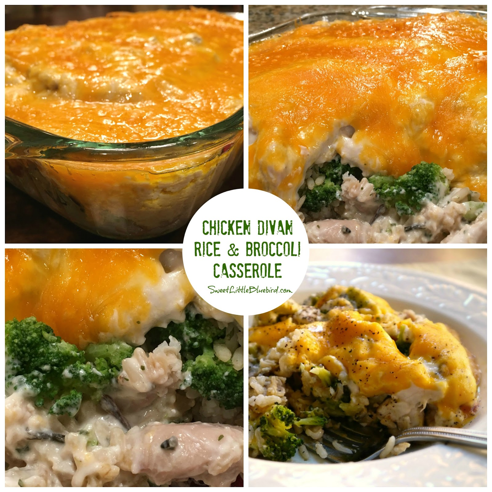 Chicken Divan Rice And Broccoli Casserole Comfort Food Sweet