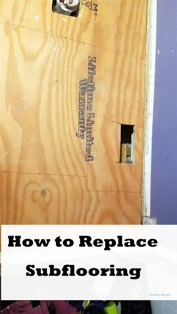 how to replace subflooring
