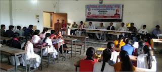 श्री हरिदास पीजी कालेज में 7 दिवसीय विशेष कार्यक्रम हुआ समापन  | #NayaSaberaNetwork
