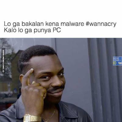 7 Meme 'Virus Ransomware' Ini Kocak Banget, Bikin Sakit Hati Hackernya