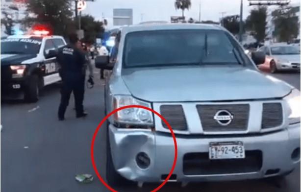 Detienen a policía ministerial, tras atropellar a un niña de 5 años