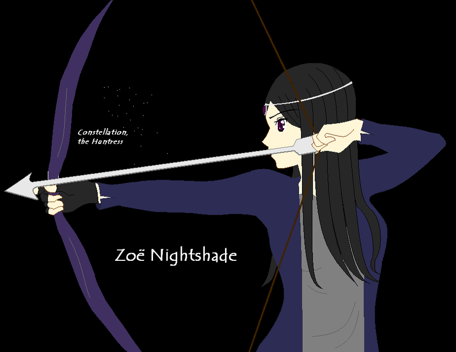 Percy Jackson BrasilZoe Nightshade Constellation