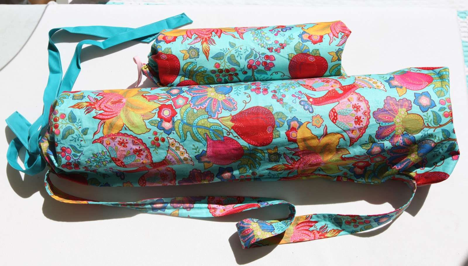 Oh That Annelie Diy Project Yoga Mat Bag