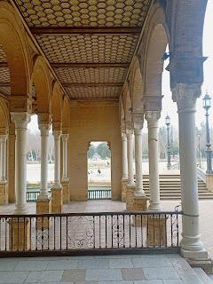Travelog Seville, Spain Plaza Espana