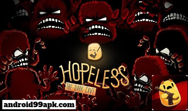 لعبة Hopeless The Dark Cave v2.0.25 مهكرة بحجم 32 ميجابايت للأندرويد