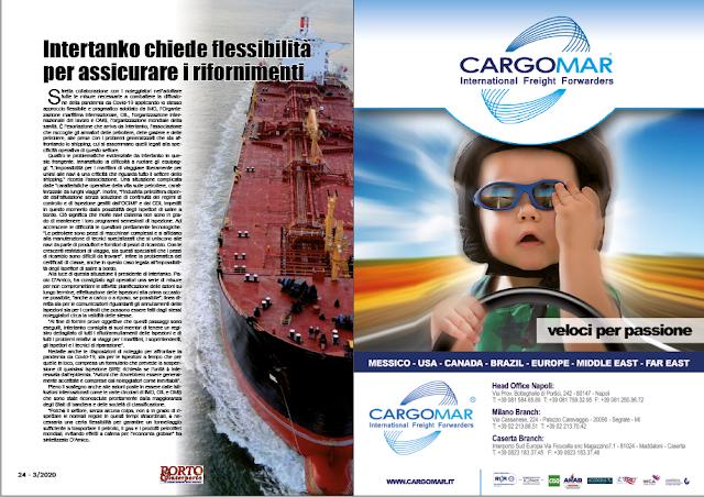 MARZO 2020 PAG. 24 - Intertanko chiede flessibilità per assicurare i rifornimenti