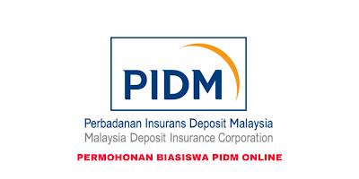 Permohonan Biasiswa PIDM 2020 Online (Borang)