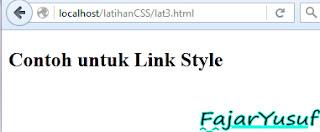 CSS : Cara menggabungkan HTML dengan CSS