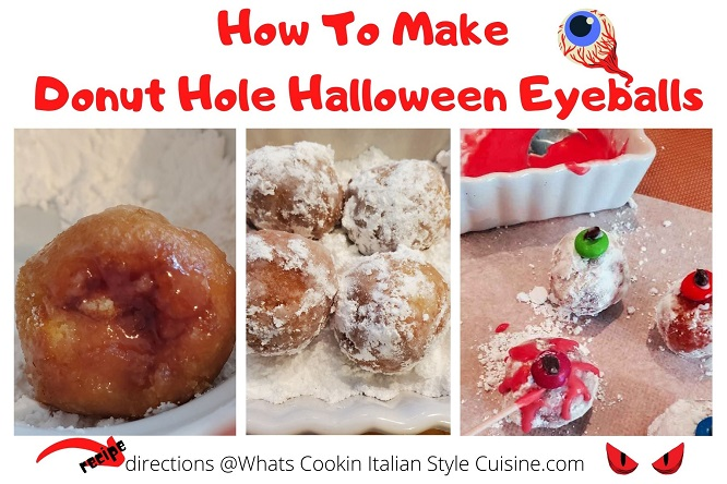 how to make filled donut holes with jam collage