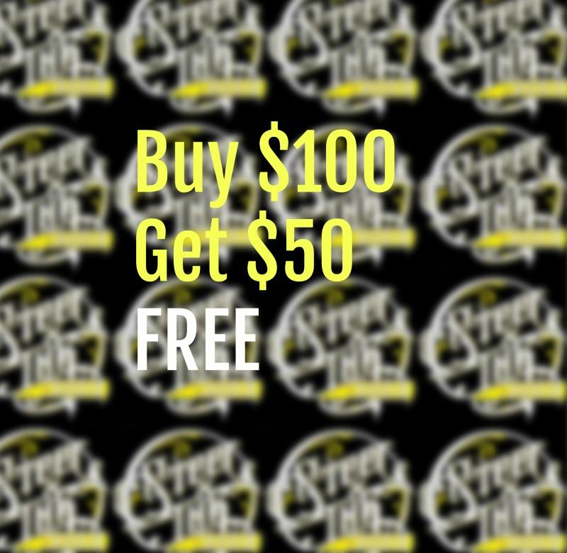 3 Day Black Friday Sale Coming Soon Buy 100 Get 50 Free Steel Ink Studio Tattoo And Piercing Studio In St Louis Missouri