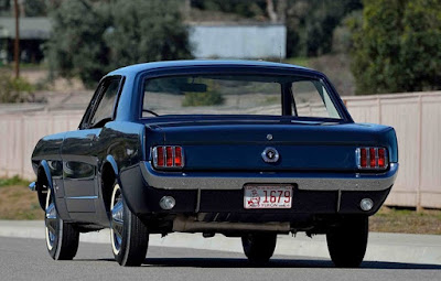 1965 Ford Mustang Prototype Rear