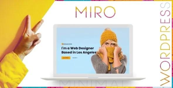 Best Personal Portfolio WordPress Theme