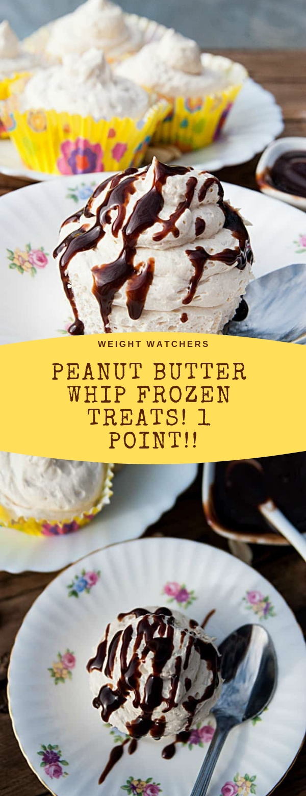 Weight Watchers Peanut Butter Whip Frozen Treats! 1 Point!! #PEANUT #BUTTER #WW #WEIGHTWSTCHER