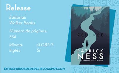 Release. Editorial Walker Books. 336 páginas. Inglés. ¿LGBT+? Sí