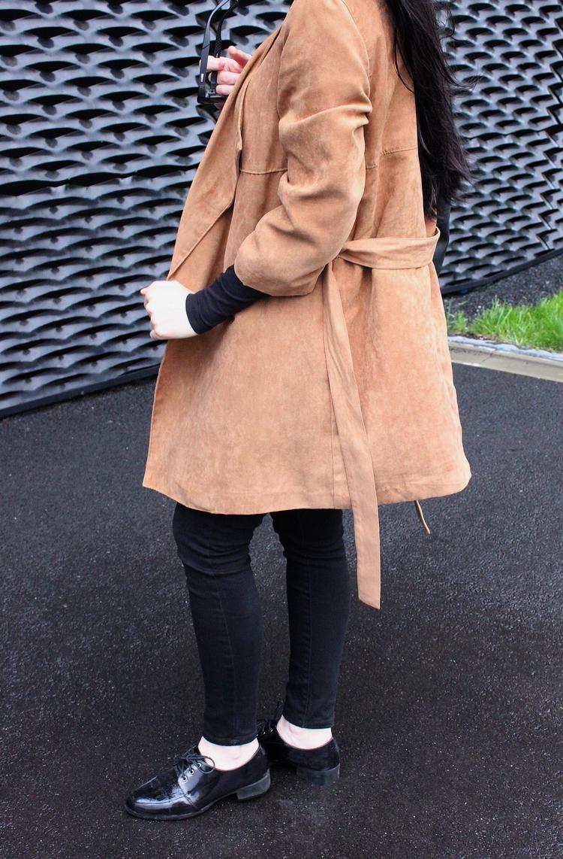 moda l styl l elegancki look l minimalizm l zamsz