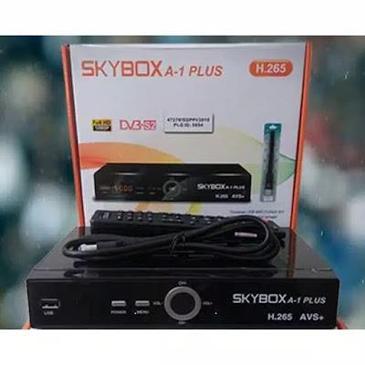 تحديث جديد لجهاز Skybox A1+ Plus بتاريخ 31-08-2020
