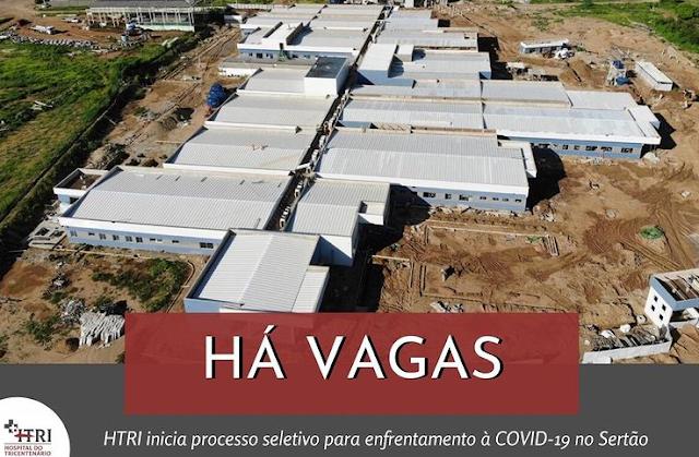 Hospitais de Serra Talhada abrem processos seletivos