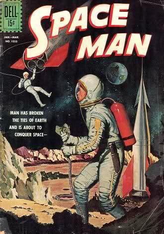 say hello spaceman space man dell comics 1962