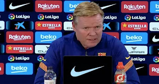 Koeman confirm Barcelona to continue with 3 at the back against Osasuna