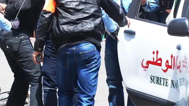 طنجة: إلقاء القبض على مجرم فرنسي يبلغ من العمر 30 سنة