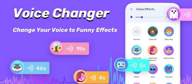تنزيل Free Voice Changer   تطبيق تغيير الصوت الجذاب والمضحك لنظام الاندرويد