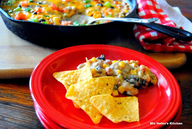 Southwest Skillet Dip at Miz Helen's Country Cottage