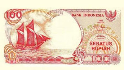Gambar uang kertas 100 rupiah lama
