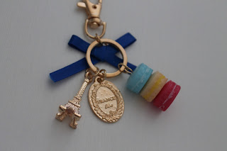 cndirect france macarons paris eiffel tower keychain