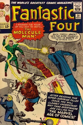 Fantastic Four #20, the Molecule Man