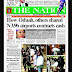 NIGERIA NEWSPAPERS: TODAY'S THE NATION NEWSPAPER HEADLINES [6TH FEBRUARY, 2018].