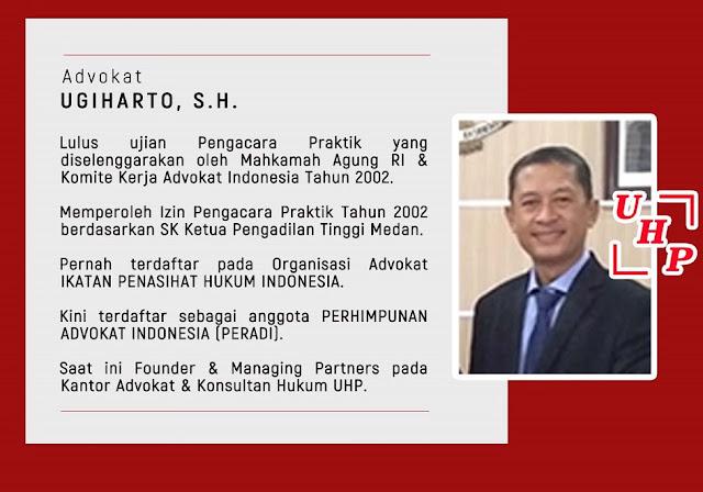 Data Peradi Pengacara Advokat Medan