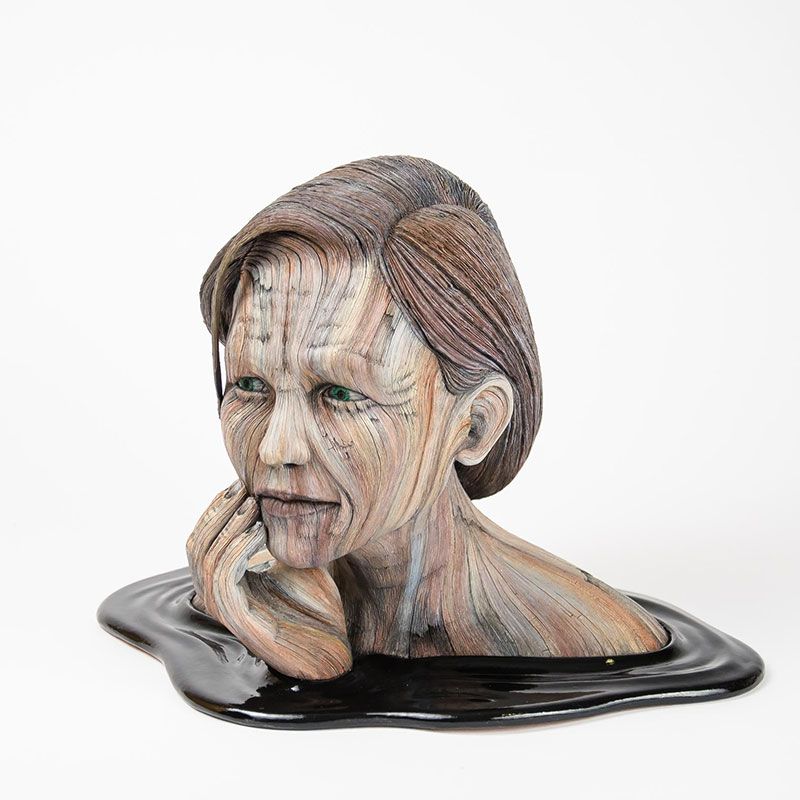 Hyperrealistic Clay Sculptures by Christopher David White