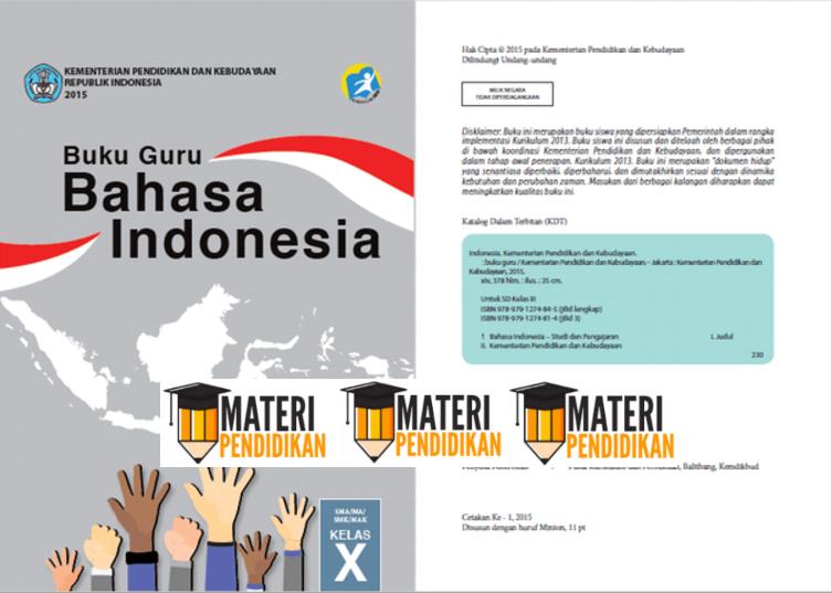 Download Buku Bahasa Indonesia Guru Dan Siswa Kelas 10 Sma ...