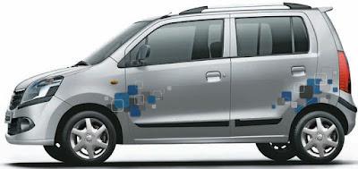 Maruti Suzuki Wagon R side view Hd Image