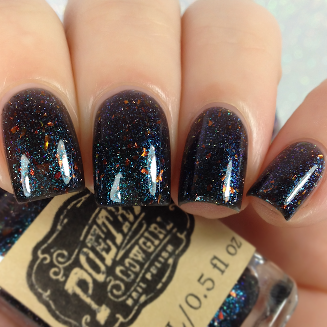Poetry Cowgirl Nail Polish-He Rides At Night
