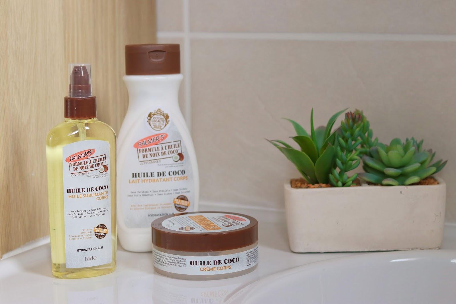 palmers palmer's huile de noix de coco gamme beaute sans parabene avis positif victoires de la beauté les gommettes de melo shampooing lait