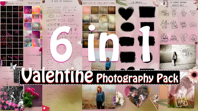 Super Valentine Day Photography Pack For Photoshop Pro